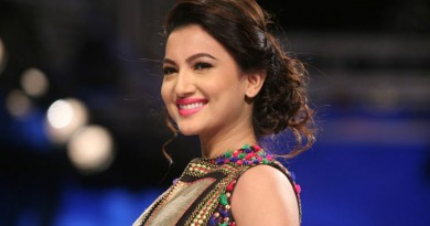 Gauhar Khan Height