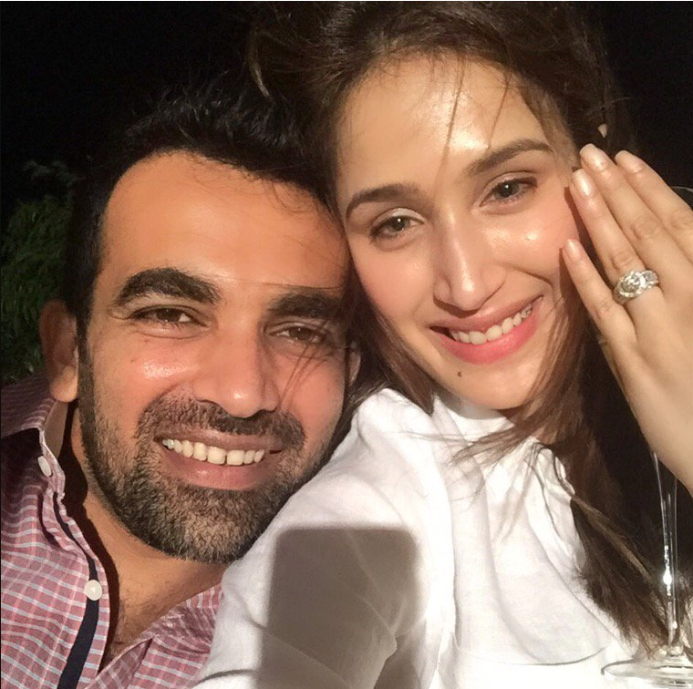 Zaheer Khan Marriage